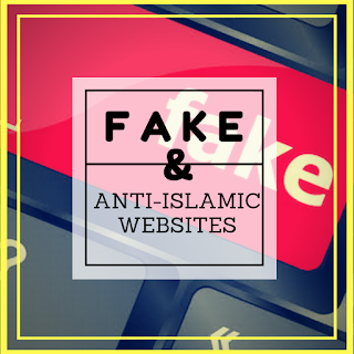 List of fake and anti-Islamic websites
