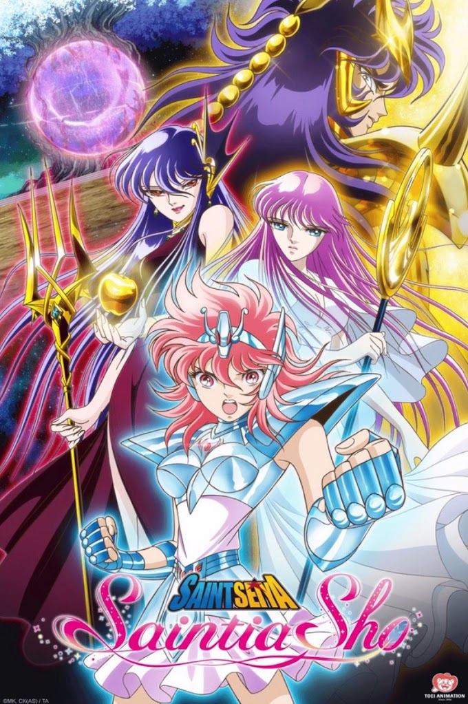 Review | Anime | Saint Seiya: Saintia Shō