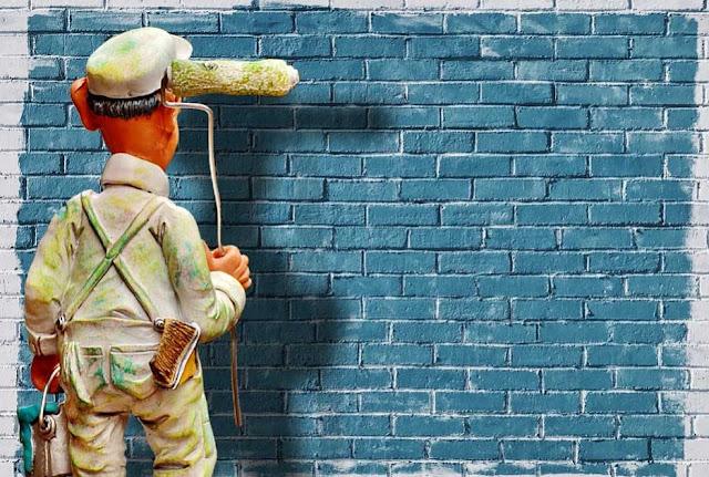 Cara Mengelupas Cat Tembok Lama Dengan Mudah dan Cepat