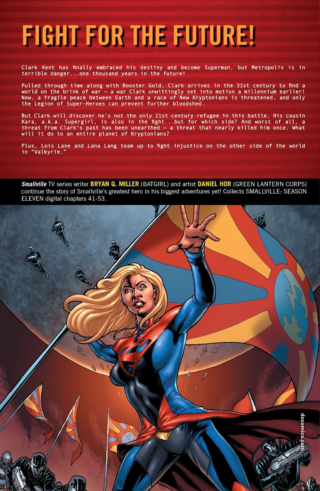 Read online Smallville Season 11 [II] comic -  Issue # TPB 4 - 157