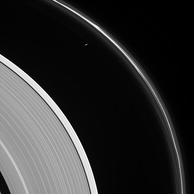 Prometheus and F Ring