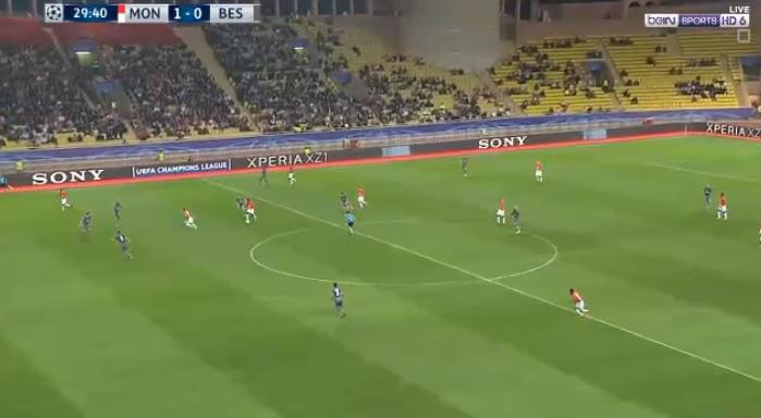 فيديدو : موناكو يخسر من بشكتاش بهدفين مقابل هدف  17-10-2017 دوري أبطال أوروبا