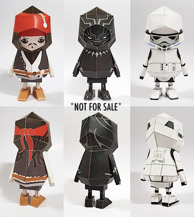 WHAT WHO BOOGIE HOOD Paper Toy Above Pic From 1300K Shop WHEN WHERE Select Templates Purchasable Online Here On Etsy