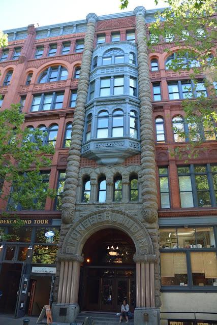 Seattle amazing facade