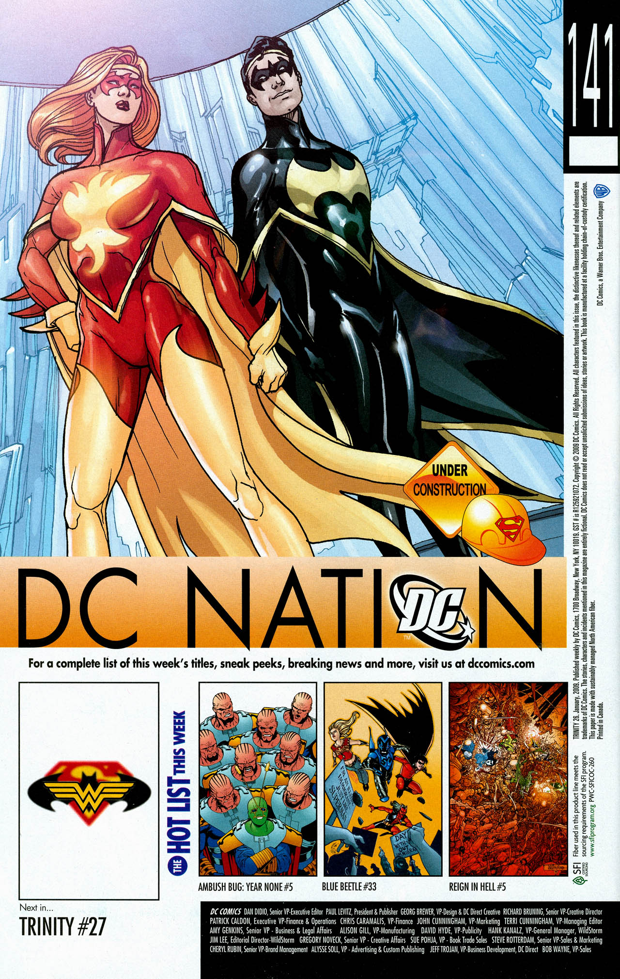 Read online Trinity (2008) comic -  Issue #26 - 34