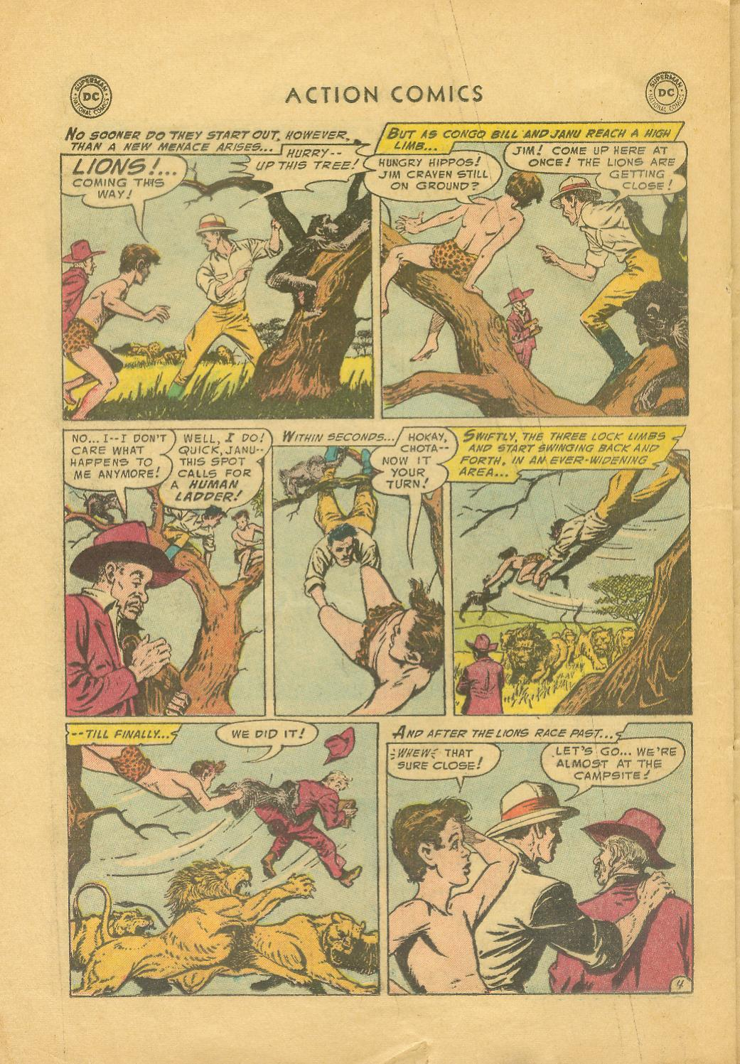 Read online Action Comics (1938) comic -  Issue #216 - 21