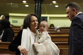 Carolina Bescansa bebé