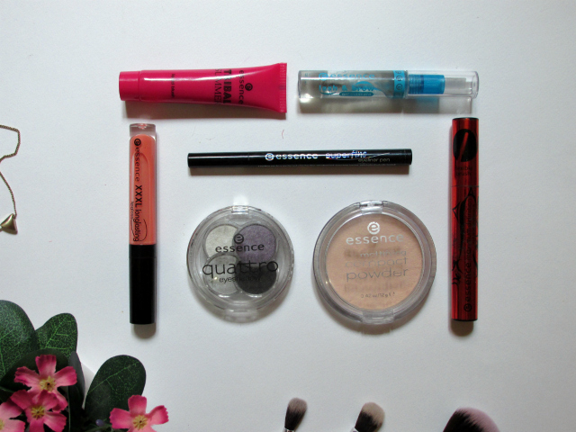 Essence cosmetics makeup look products