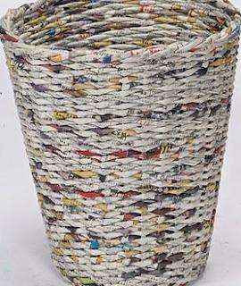 Kerajinan Tangan Dari Bahan Sampah Kertas