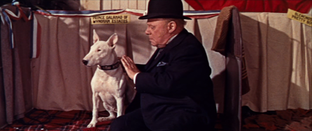 Wildfire and Edmund Gwenn in It's a Dog's Life (1955)