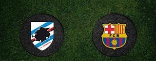 """اهداف مباراة برشلونة وسامبدوريا 3-2 """"شاشة كاملة كأس جامبر"""