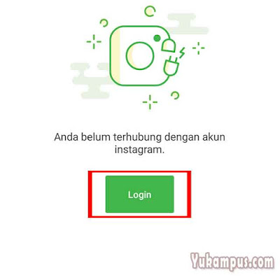 login instagram di tokopedia