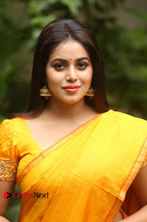 Actress Poorna Pictures in Saree at Avanthika Movie Opening  0003