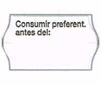 Etiqueta adhesiva consumo preferente