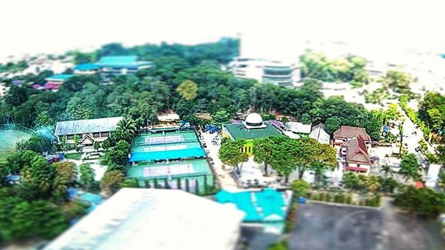 Foto Udara Dengan Efek Miniatur di Kota Samarinda Agar Foto Lebih Indah