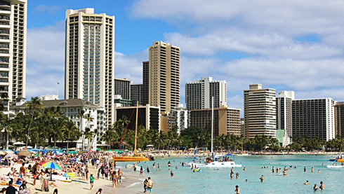 waikiki beach honolulu hawaii