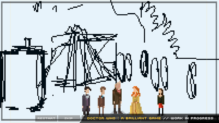 Doctor Who FanGame Day Of The Doctor Wedding Pixel