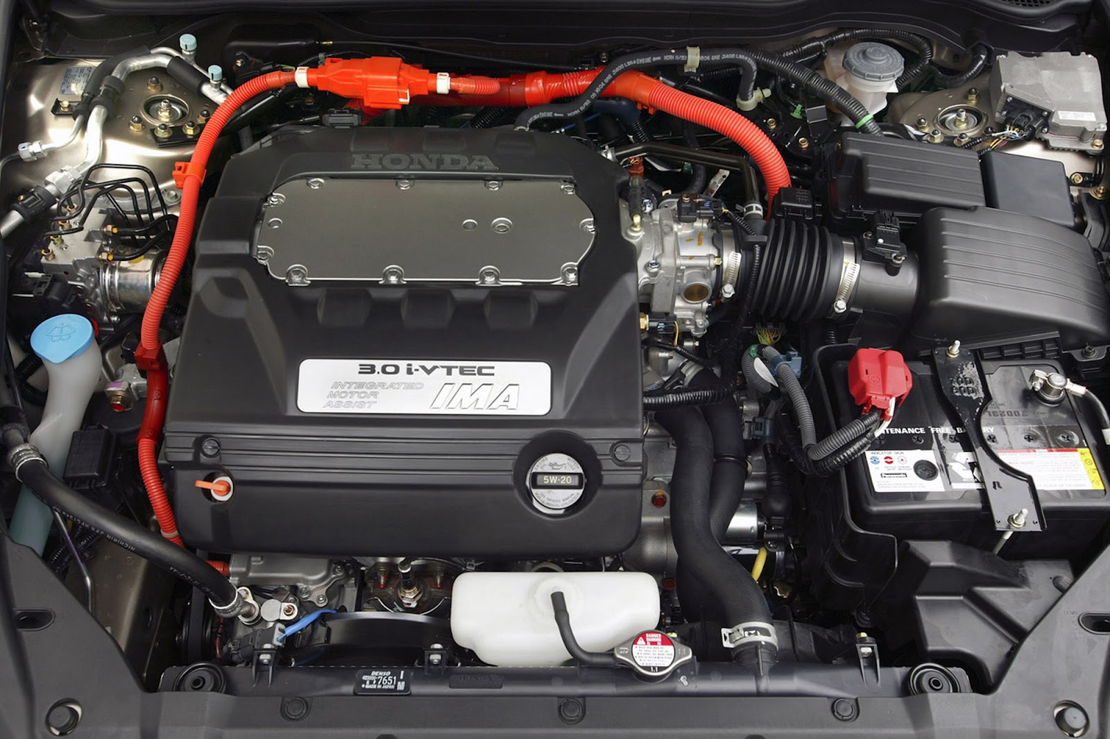 2005 Honda Accord Hybrid Engine