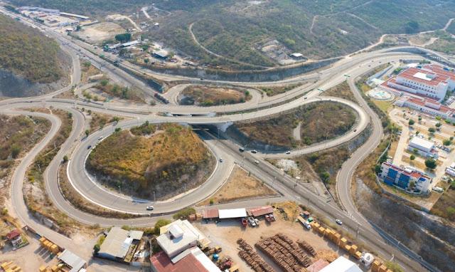 Sobrevuela la Unidad Aeromóvil de la SSP Guerrero en Autopista del Sol