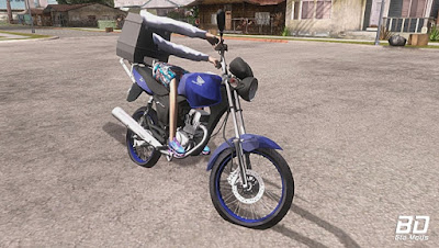 Download, Mod, Moto ,CG 150 PC FRACO para GTA San Andreas, GTA SA , Jogo PC