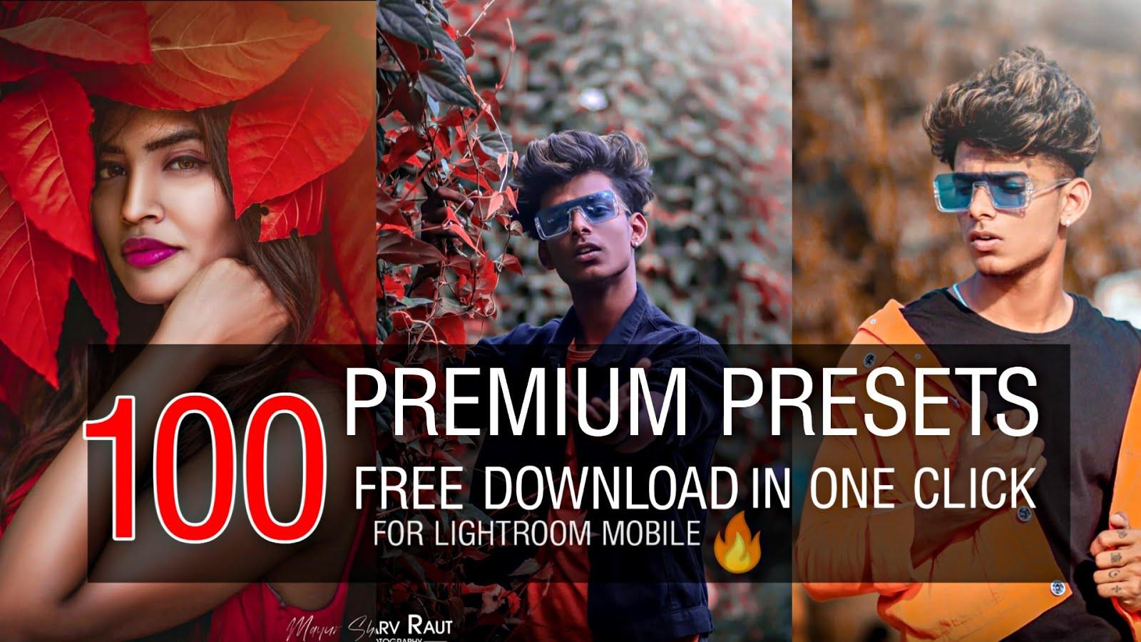 100 xmp presets for lightroom mobile 2020 100 presets ...
