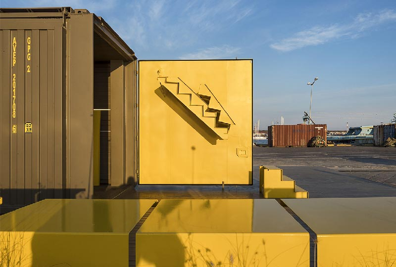 progettazione di un container -  LineaT Studio