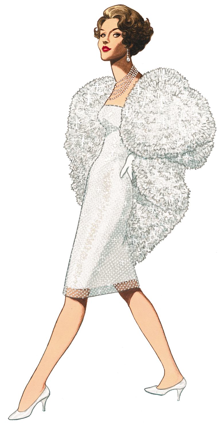 Free Graphic Of The Week 1959 Fashion Clipart Stunning