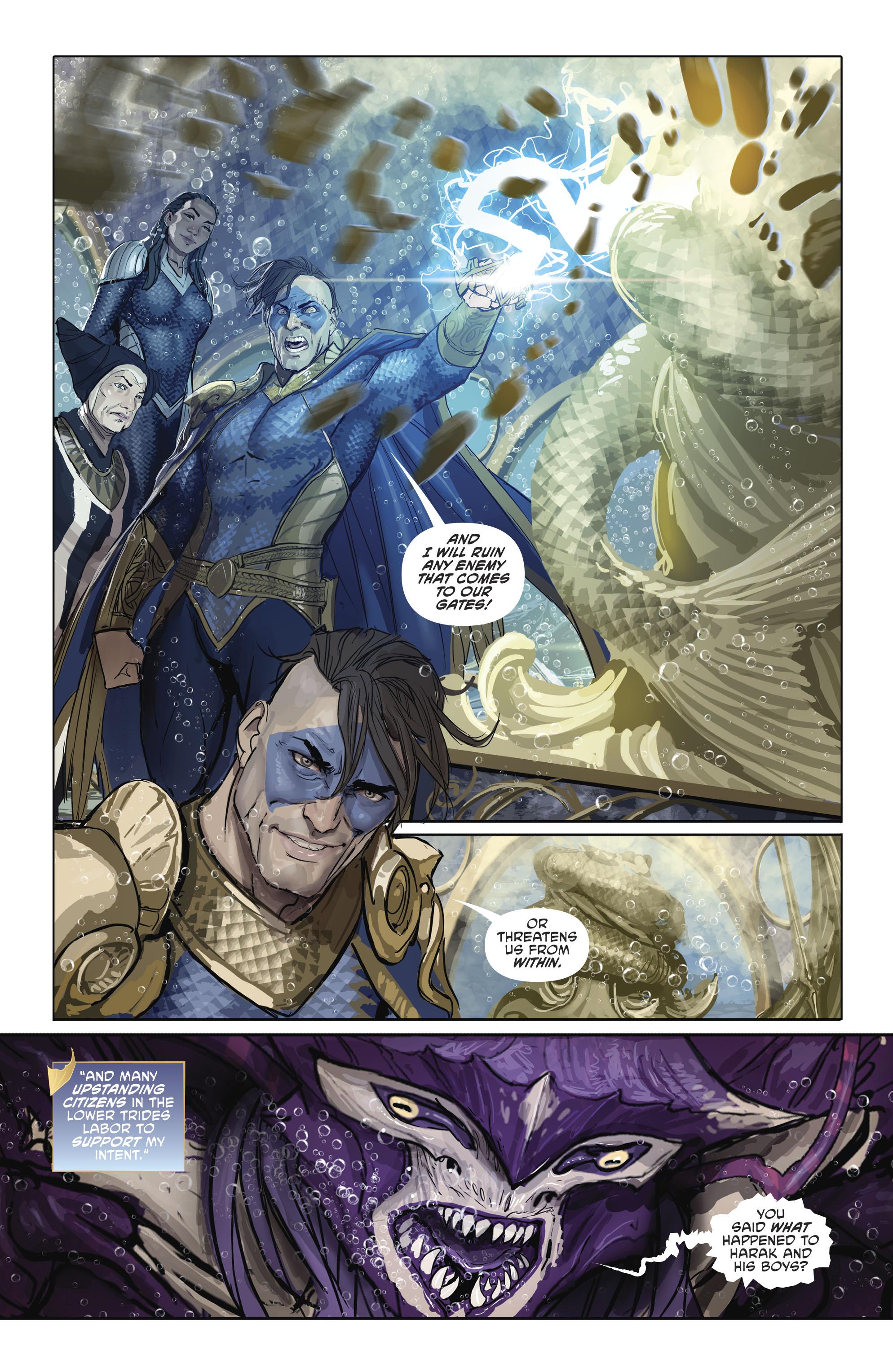 Read online Aquaman (2016) comic -  Issue #25 - 18