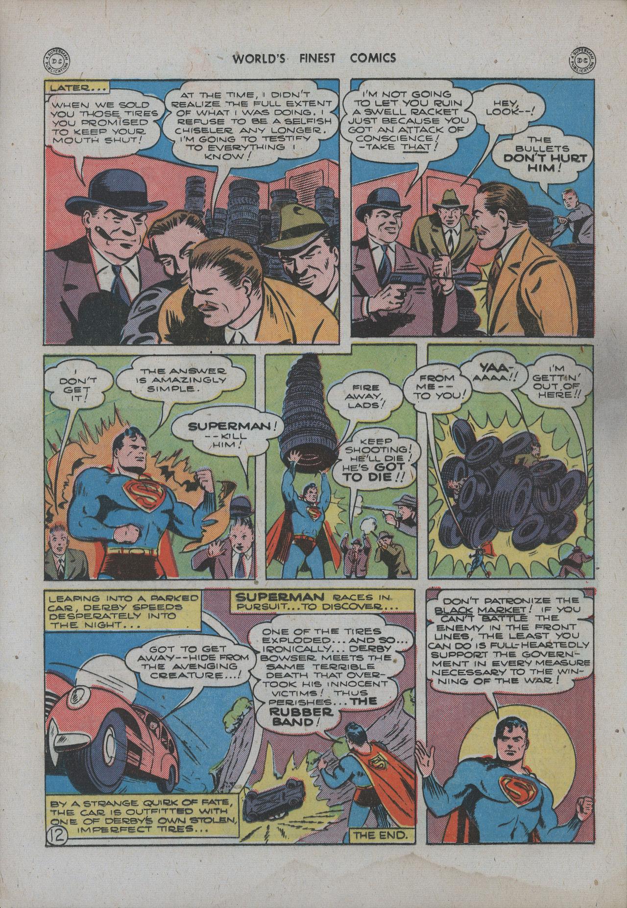 Read online World's Finest Comics comic -  Issue #15 - 15