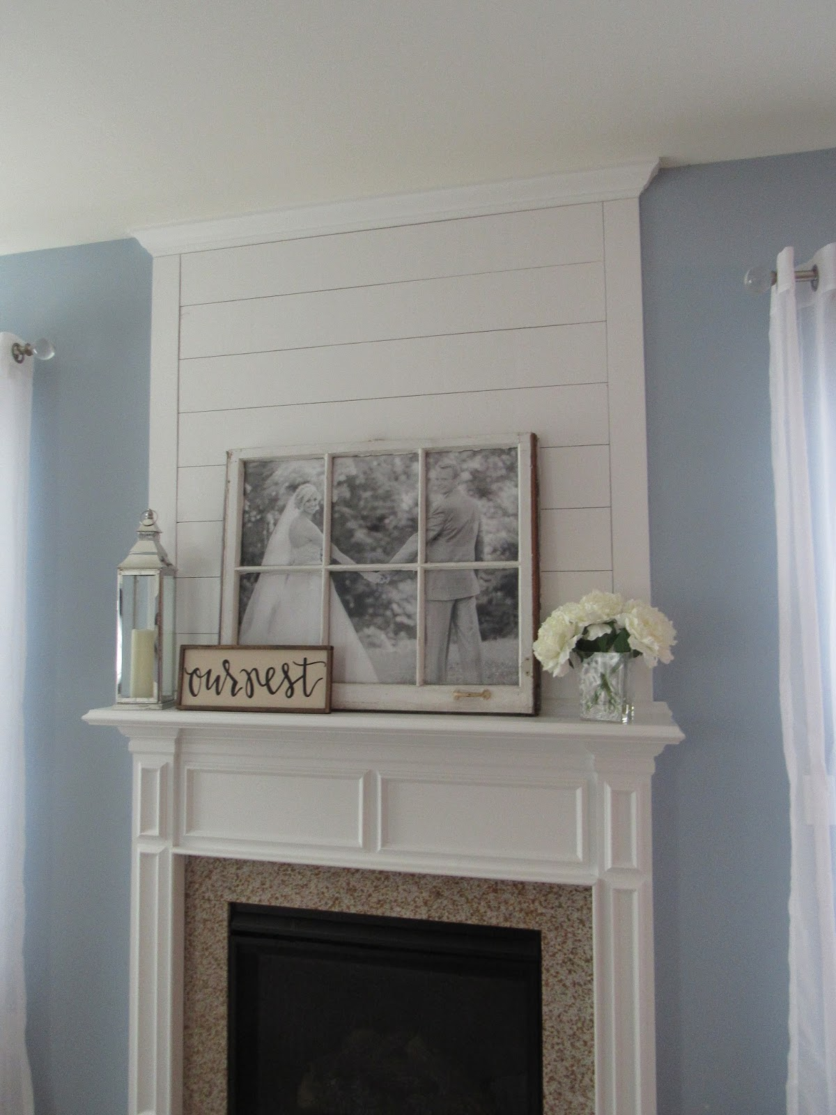 Brand-new My Old Kentucky Home Design: DIY Shiplap Fireplace Makeover LB61