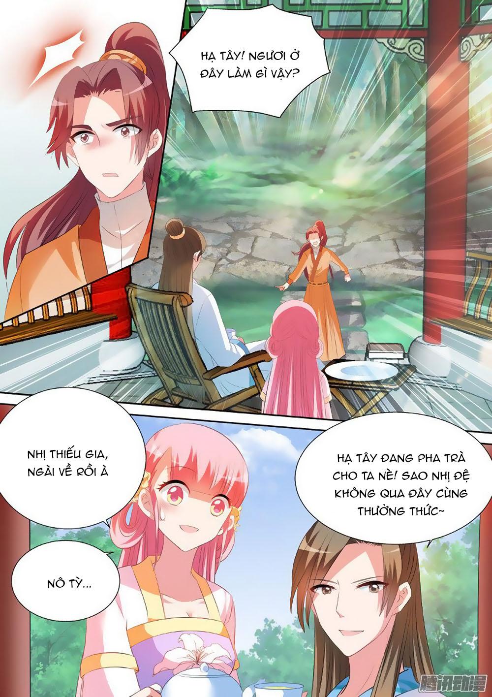 Hệ Thống Chế Tạo Nữ Thần chap 27 - Trang 7