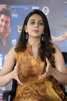 Rakul Preet Singh smiling Beautyin Brown Deep neck Sleeveless Gown at her interview 2.8.17 ~  Exclusive Celebrities Galleries 220.JPG