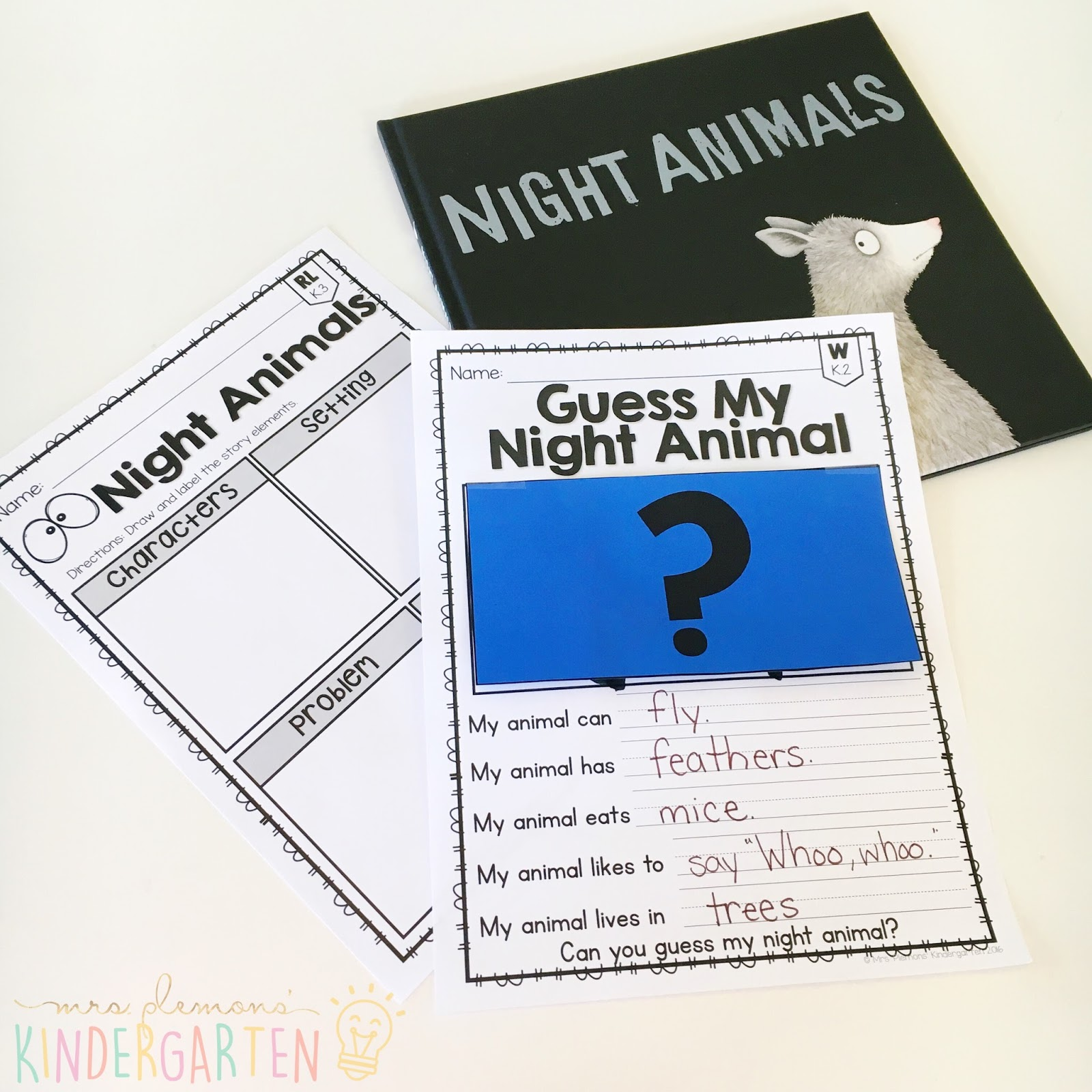12 Nocturnal Animal Books For Kids With Teaching Ideas