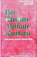 Jual Buku Tata cara Berkhitan, Aqiqah, Kurban | Agen Buku Aswaja Yogyakarta