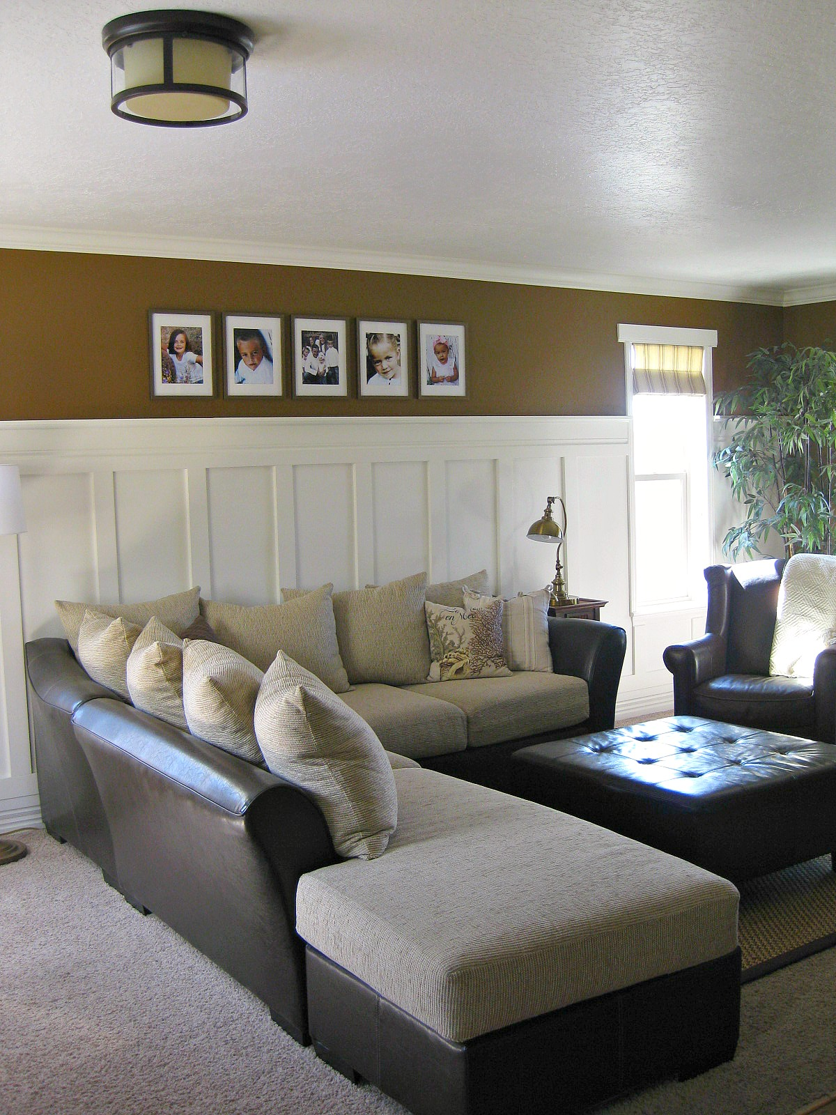 Living Room Wall: TDA Decorating And Design: Board & Batten Accent Wall Tutorial