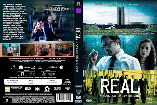 Capa DVD Real O Plano Por Trás da História [Exclusiva]