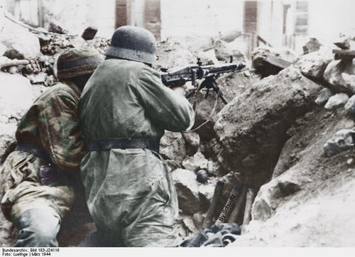 Image result for german soldiers at monte cassino