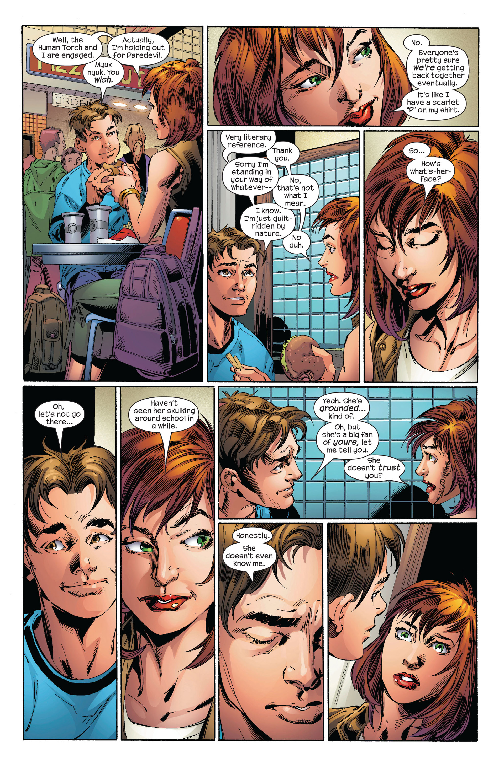 Read online Ultimate Spider-Man (2000) comic -  Issue #97 - 10