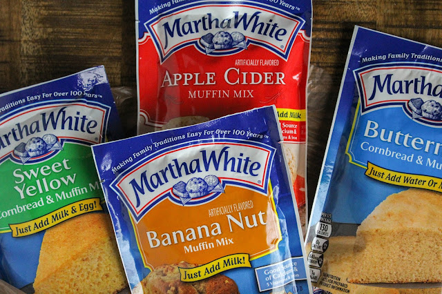 Cooking with Martha White® Baking Mixes | The Chef Next Door