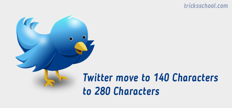 How manual increase the twitter 140 Characters to 280 characters