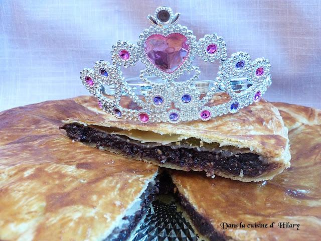 Ma galette des princesses au chocolat et pralin