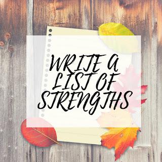 Write a List of Strengths