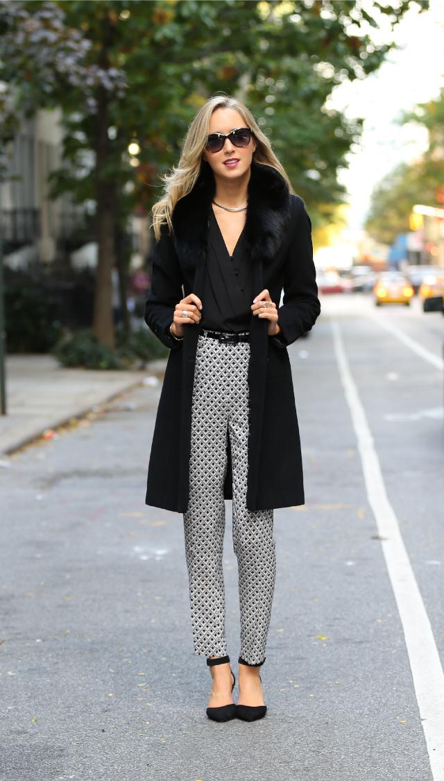 Geometric Shoes Wear What Print