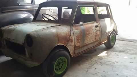 Dijual Bahan Mini Cooper Klasik Ayo Buruan Sebelum Disikat Orang