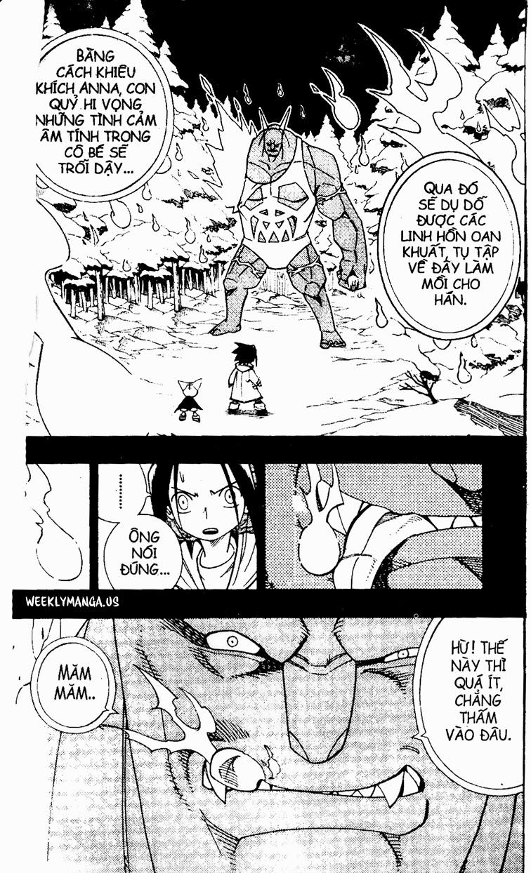 Shaman King [Vua pháp thuật] chap 173 trang 14