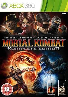 Mortal Kombat 9 Komplete Edition (X-BOX360) 2012