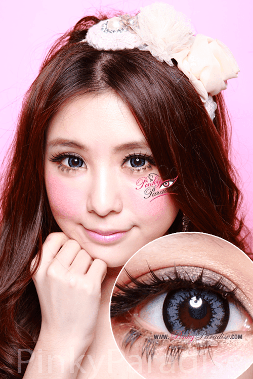 Geo Super Size Angel Grey Circle Lenses (Colored Contacts)