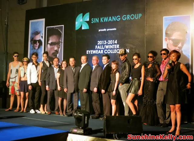 Police, Porsche Design, Bally, Charmant Blue Label, Fall Winter Eyewear Collection 2013 / 2014, Preview, Showcase & Dinner, Sin Kwang Group, management, models