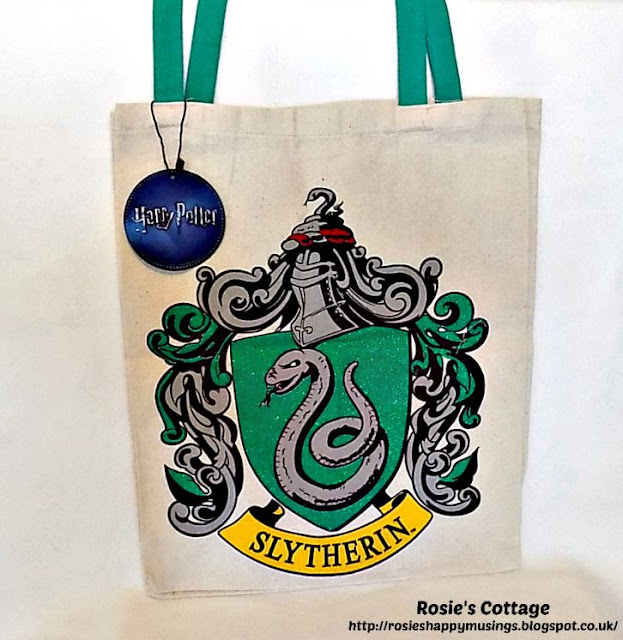 Harry Potter Slytherin tote shopping bag from Primark