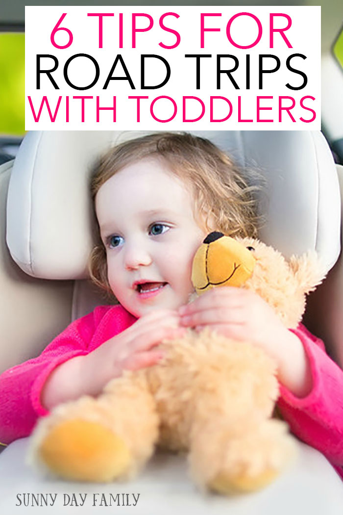Planning a road trip with a toddler on board? Use these tips to make your trip stress free and fun! These easy hacks will keep everyone happy on your next family road trip.
